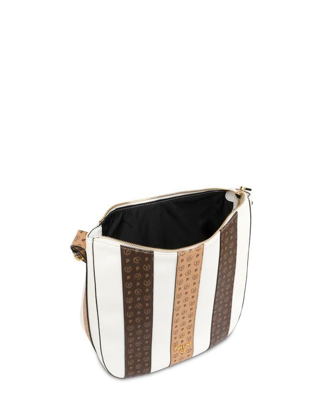 Stripe On Me shoulder hobo bag Photo 4