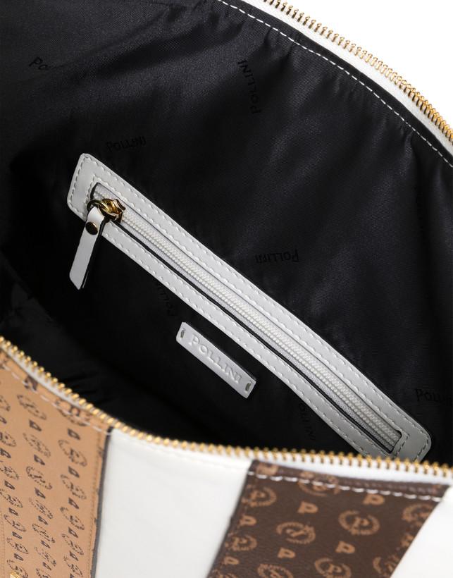 Stripe On Me shoulder hobo bag Photo 5