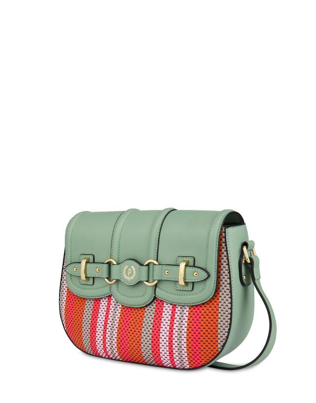 Jackie O' striped shoulder bag Photo 2