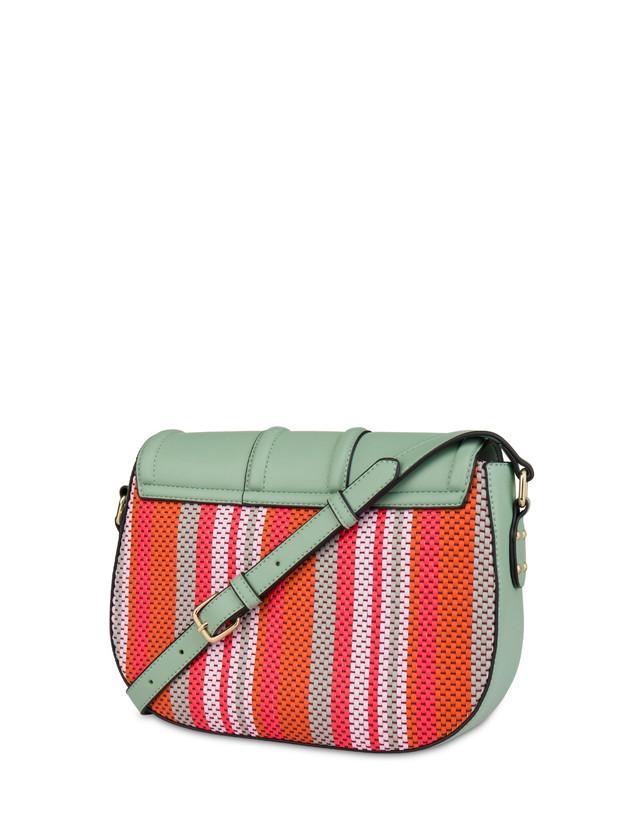 Jackie O' striped shoulder bag Photo 3