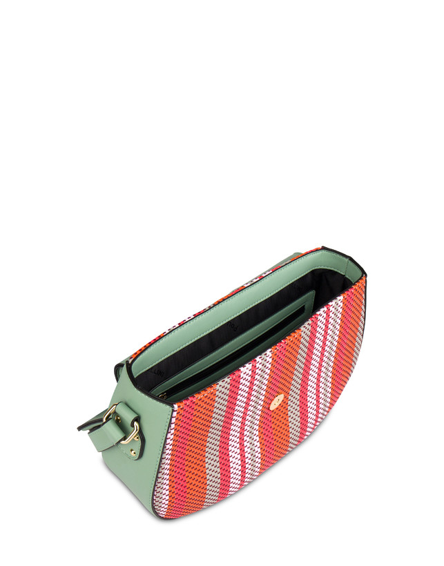 Jackie O' striped shoulder bag Photo 4