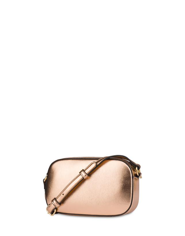Evening laminated shoulder bag Photo 3