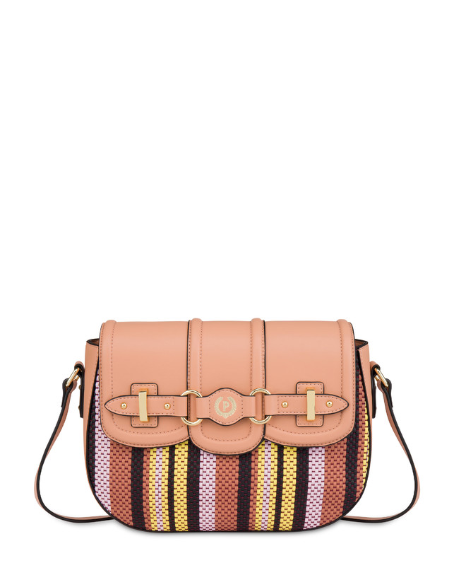 Jackie O' striped shoulder bag Photo 1