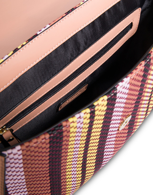 Jackie O' striped shoulder bag Photo 5