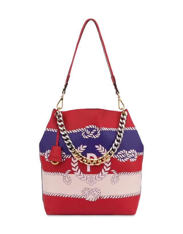 Darlene obo bag with majolica print Photo 1