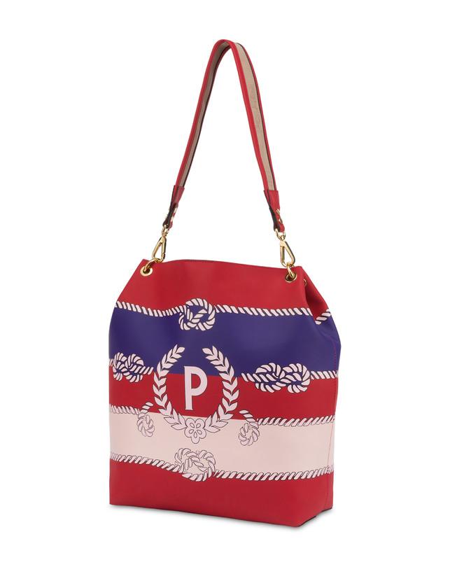 Darlene obo bag with majolica print Photo 3