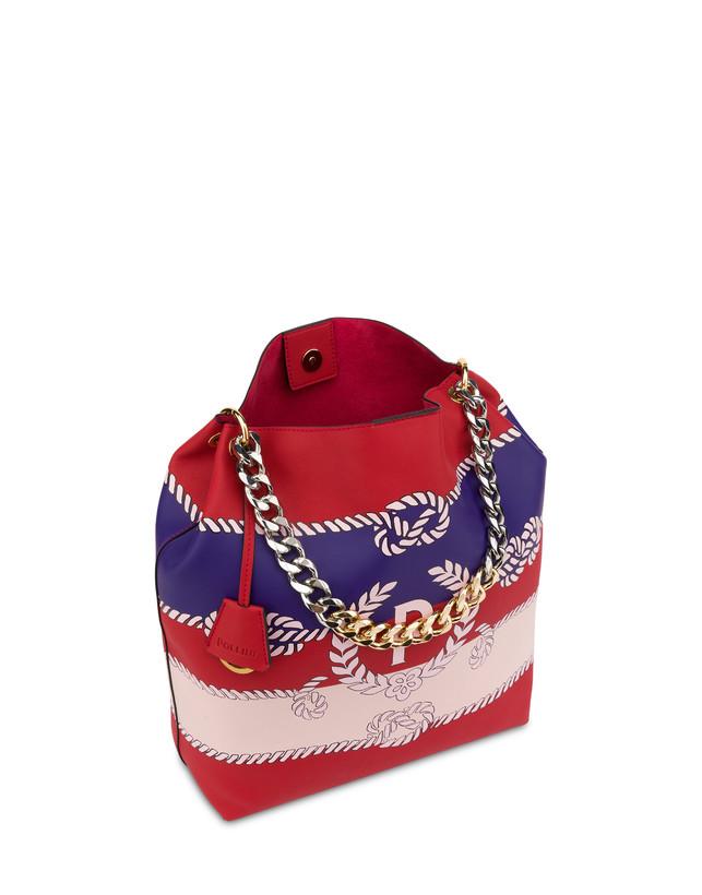 Darlene obo bag with majolica print Photo 4