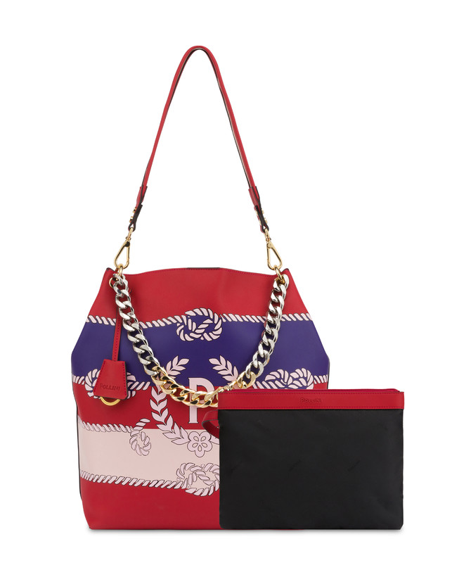 Darlene obo bag with majolica print Photo 5