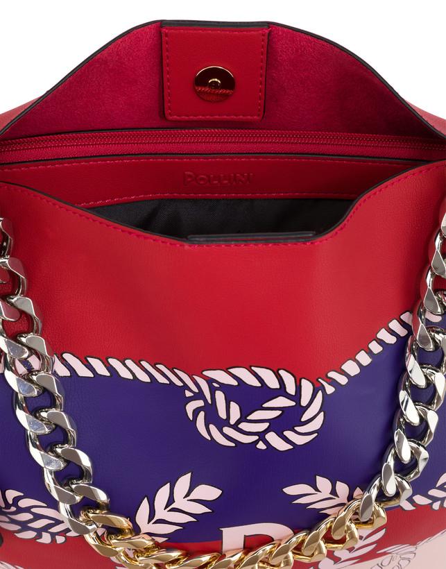 Darlene obo bag with majolica print Photo 6