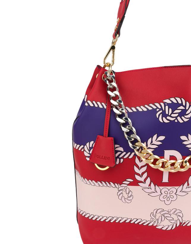Darlene obo bag with majolica print Photo 7