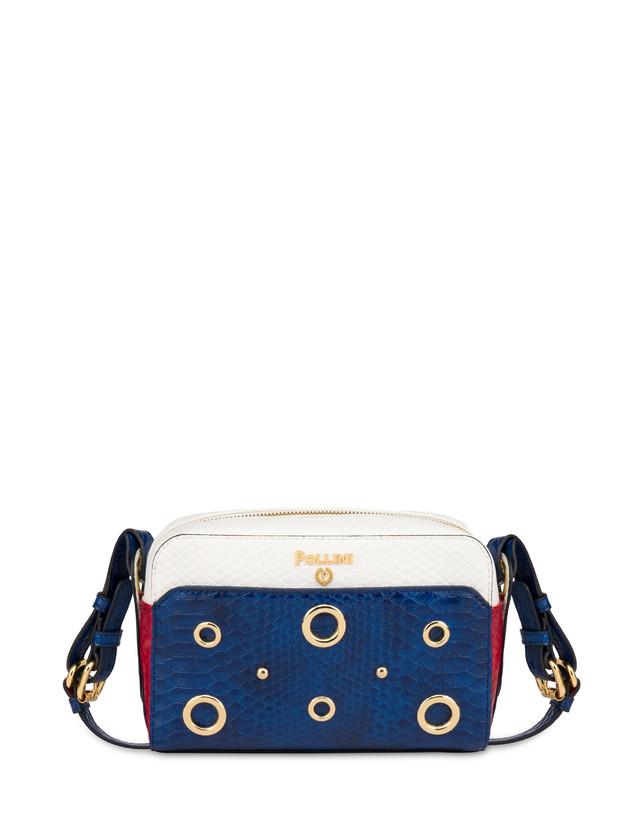 Marina houlder bag with python print Photo 1