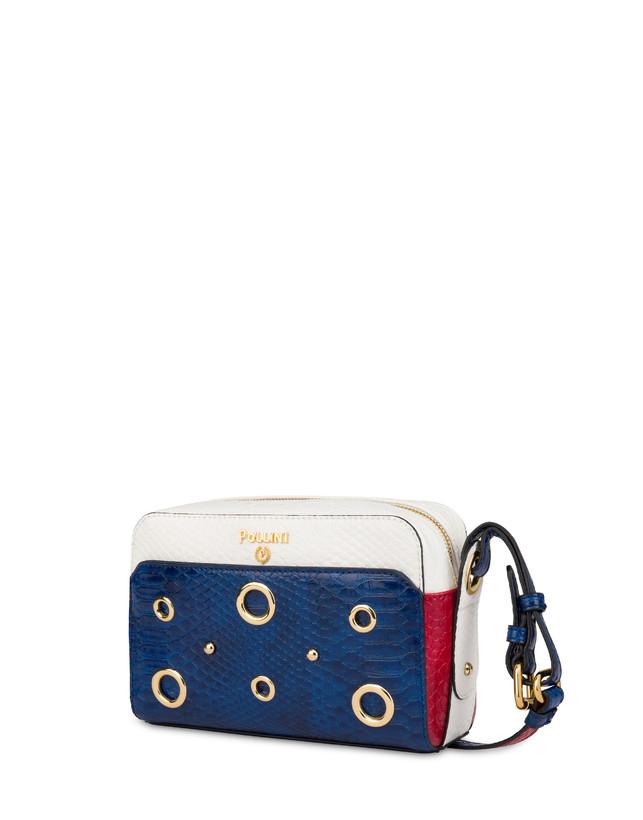 Marina houlder bag with python print Photo 2