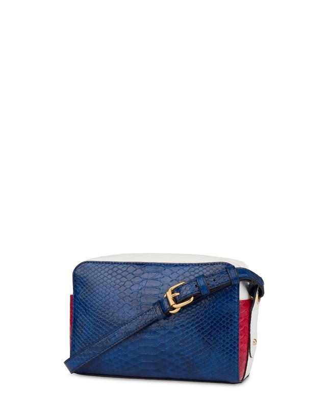 Marina houlder bag with python print Photo 3