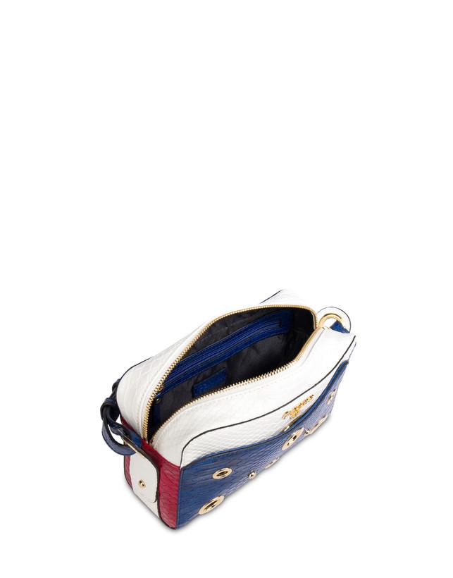 Marina houlder bag with python print Photo 4