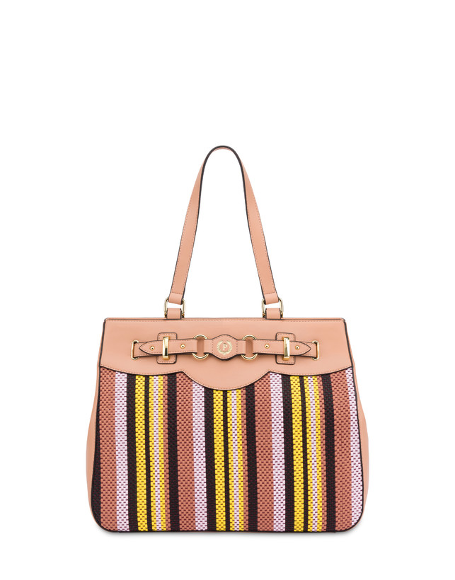 Jackie O' striped shopping bag Photo 1