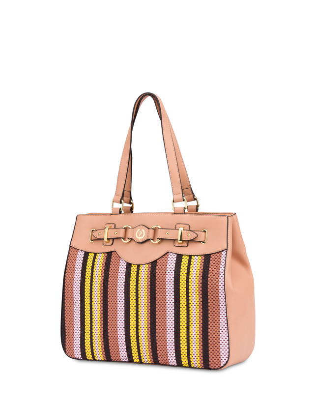 Jackie O' striped shopping bag Photo 2