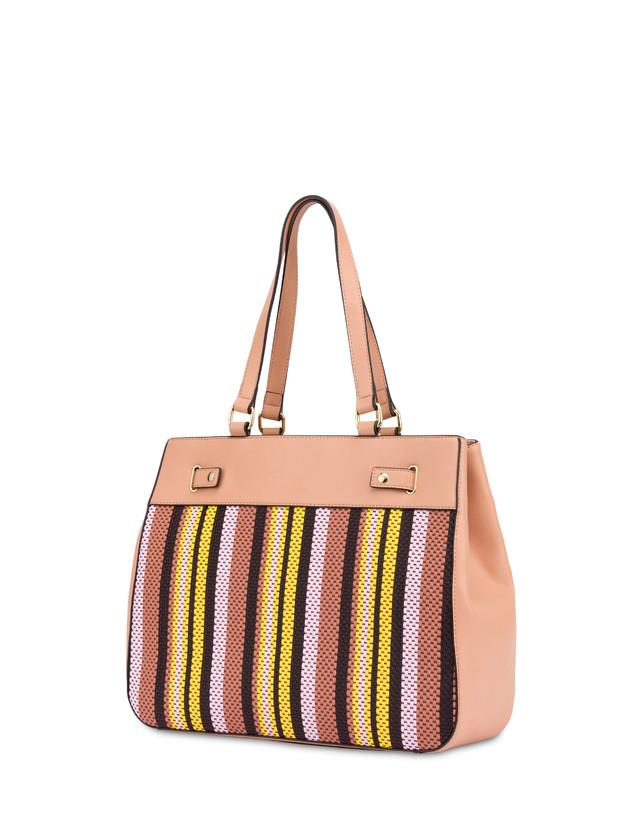 Jackie O' striped shopping bag Photo 3
