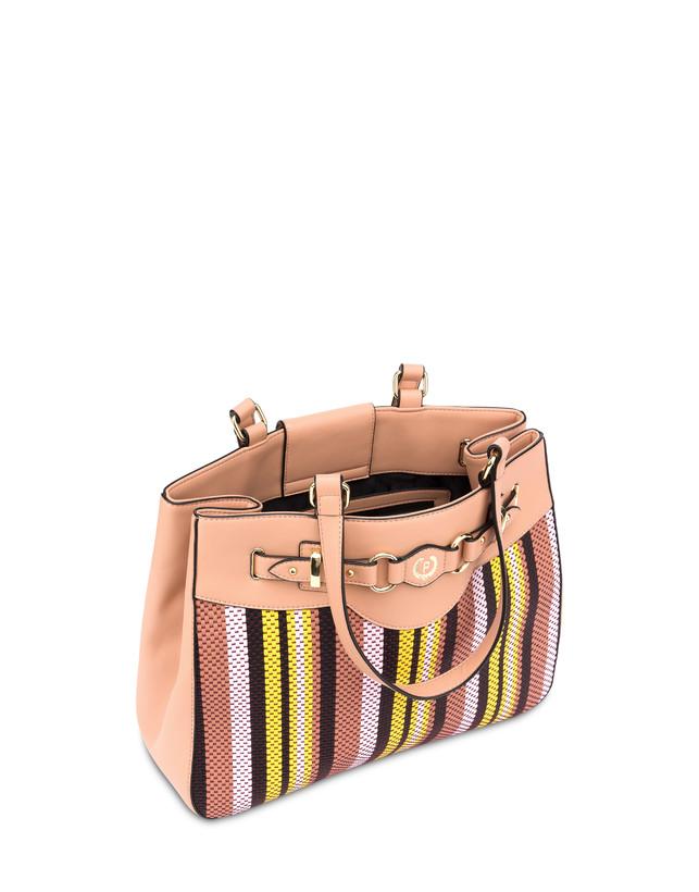 Jackie O' striped shopping bag Photo 4