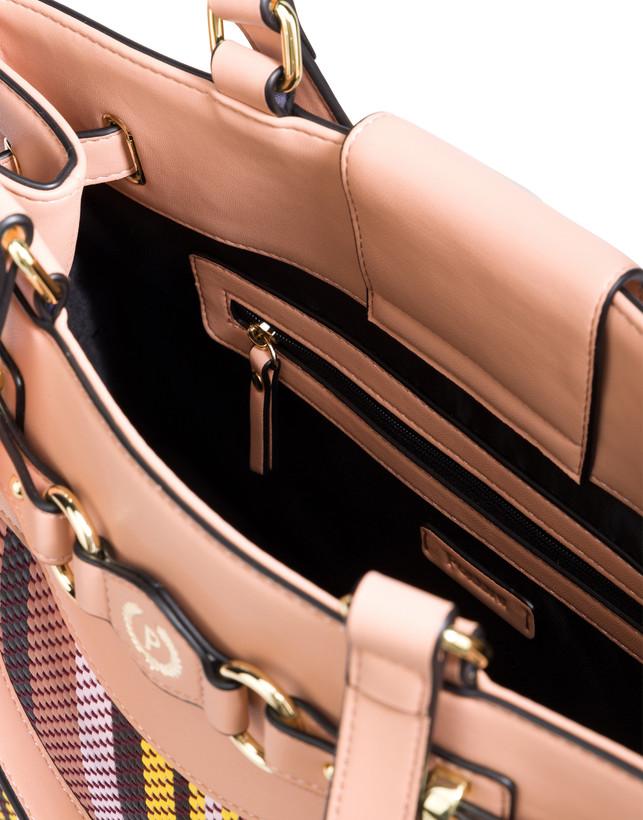 Jackie O' striped shopping bag Photo 5
