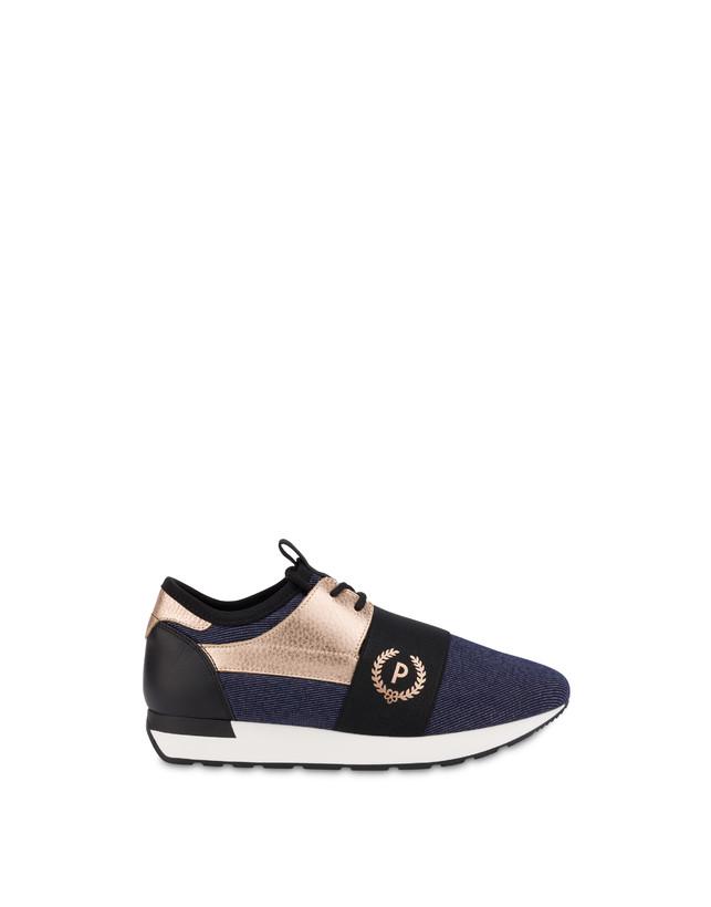 Sneakers slip-on in denim Elastic Run Photo 1