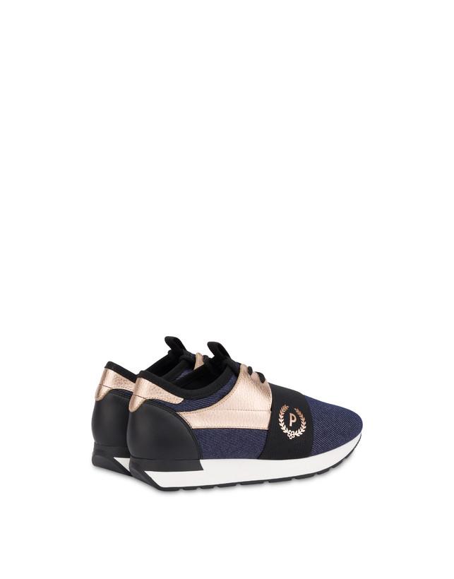 Sneakers slip-on in denim Elastic Run Photo 3