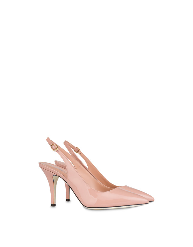 Annabelle patent leather slingback Photo 2