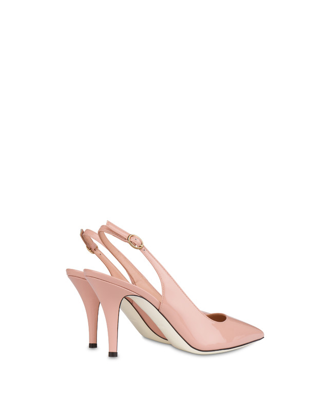 Annabelle patent leather slingback Photo 3
