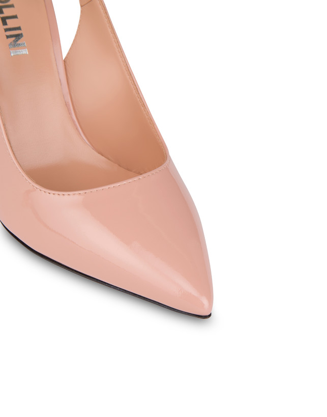 Annabelle patent leather slingback Photo 4
