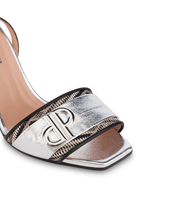 Twin P laminated sandals Photo 4