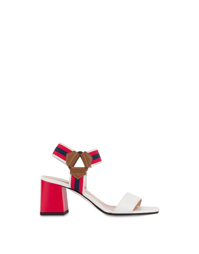 Serenissima leather sandals with elastic Photo 1