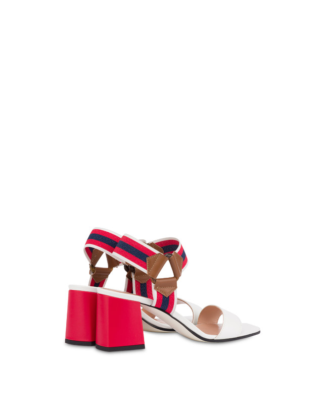 Serenissima leather sandals with elastic Photo 3