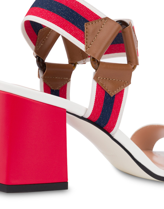 Serenissima leather sandals with elastic Photo 5