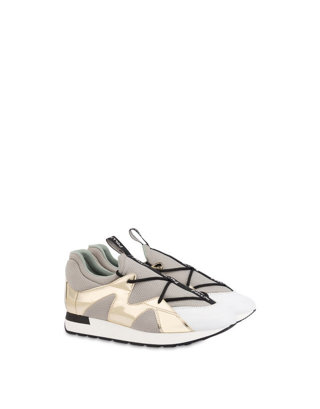 Onda slip-on sneakers in mesh and mirror Photo 2