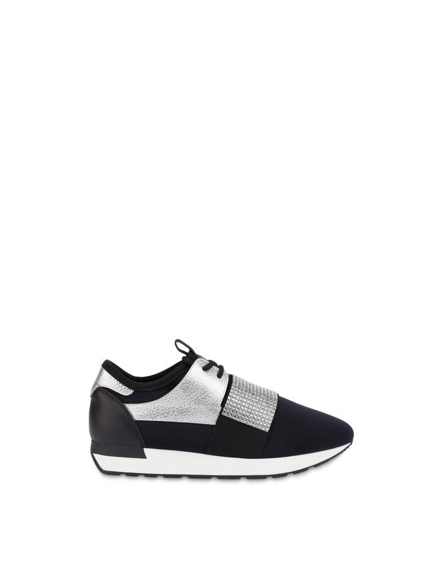 Elastic Run diamond slip-on sneakers Photo 1