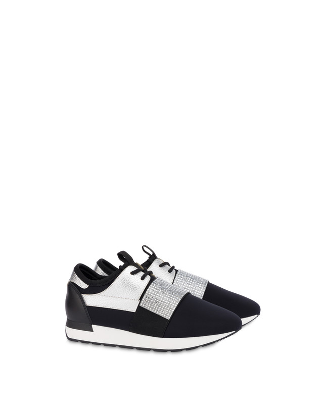 Elastic Run diamond slip-on sneakers Photo 2