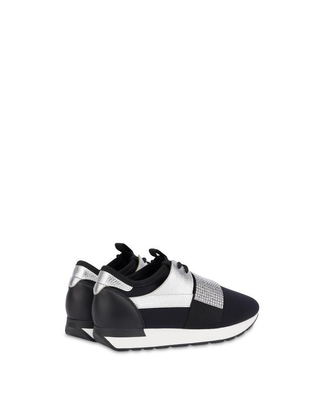 Elastic Run diamond slip-on sneakers Photo 3