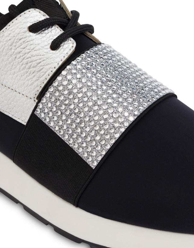 Elastic Run diamond slip-on sneakers Photo 4