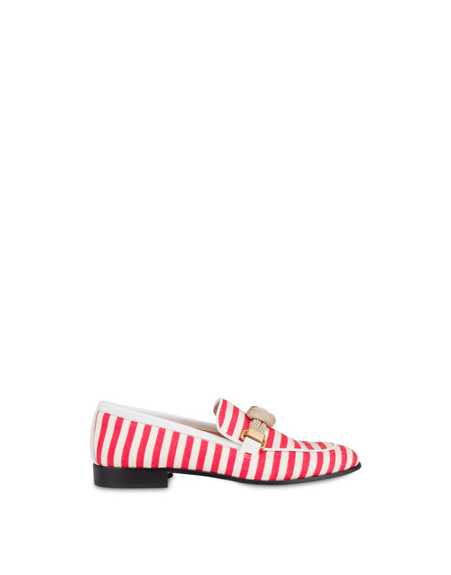 Marina striped canvas loafers Photo 1