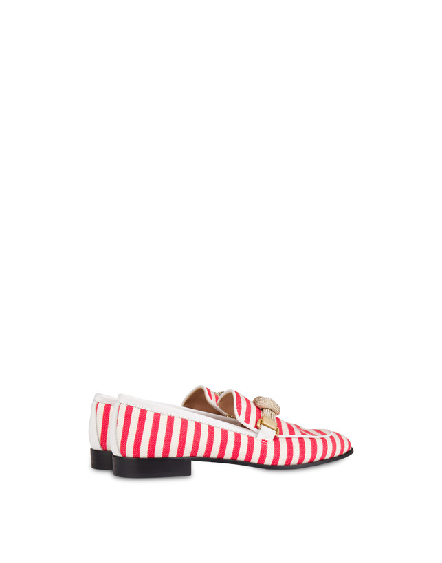 Marina striped canvas loafers Photo 3