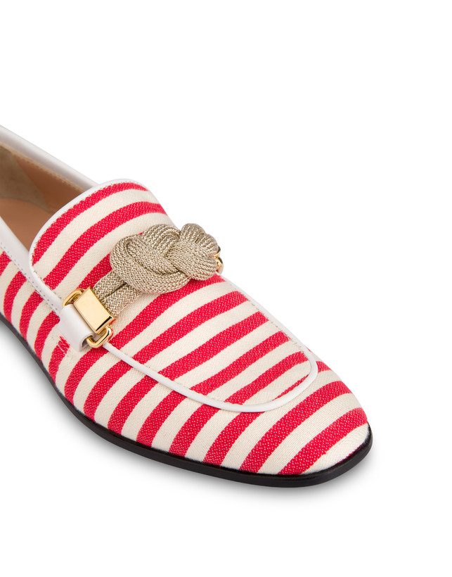 Marina striped canvas loafers Photo 4