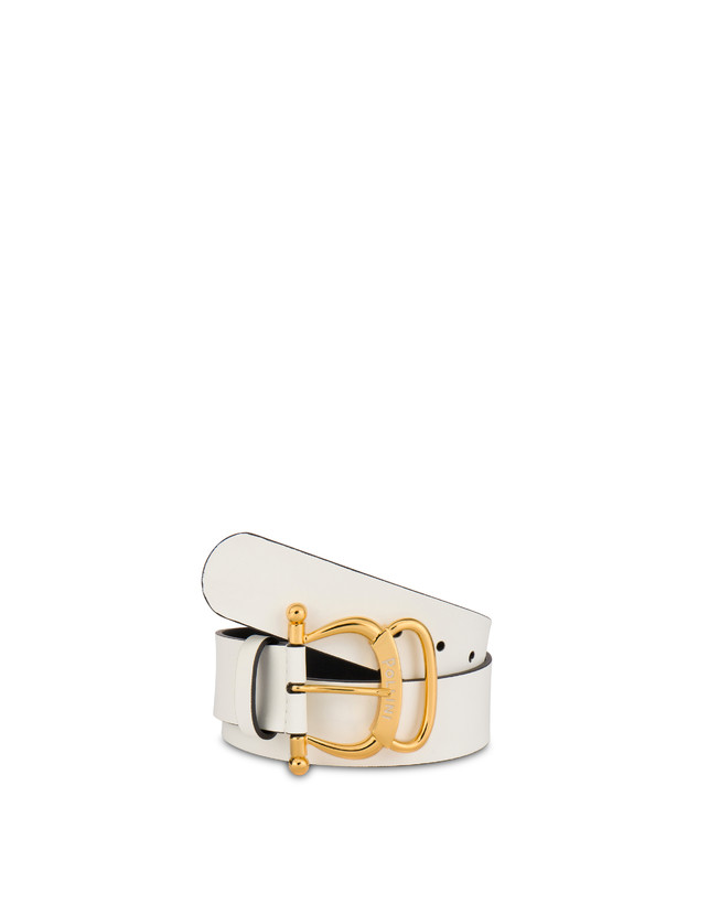 Pollini Buckle calfskin belt Photo 2