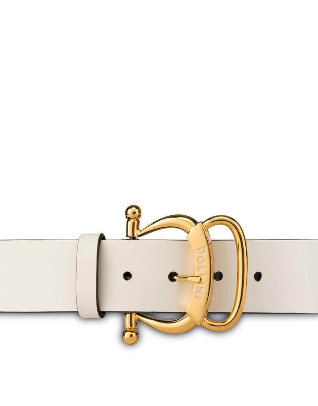 Pollini Buckle calfskin belt Photo 3