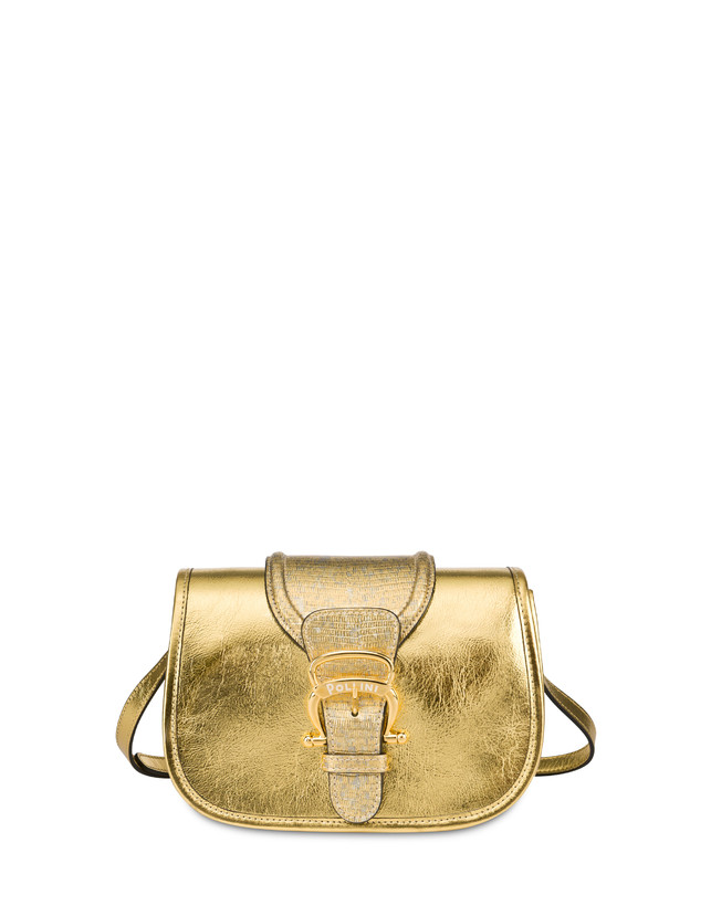 Cabiria Buckle laminated shoulder bag Photo 1