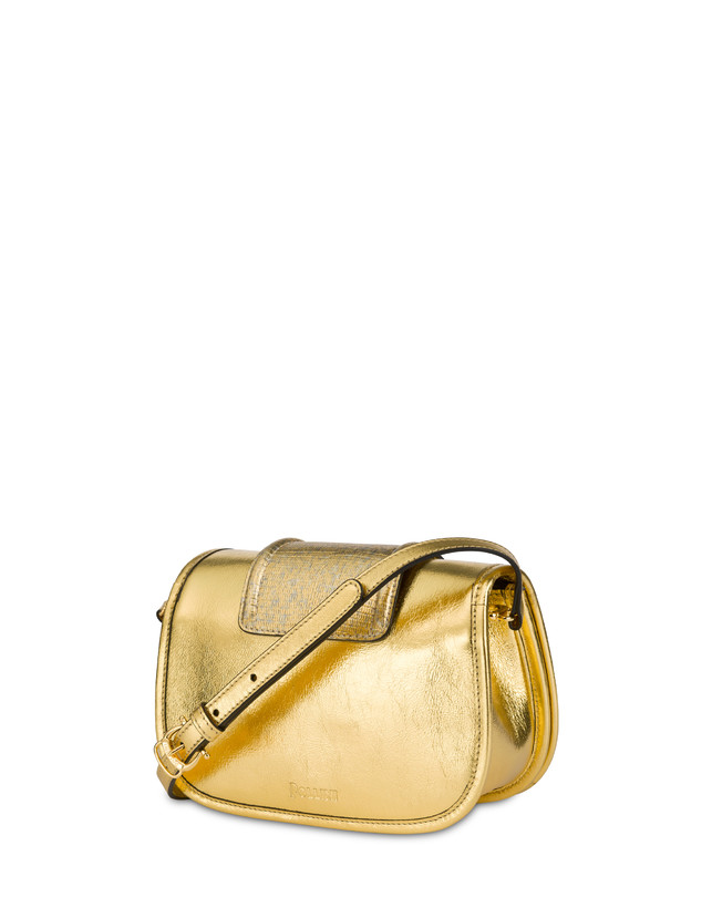 Cabiria Buckle laminated shoulder bag Photo 3