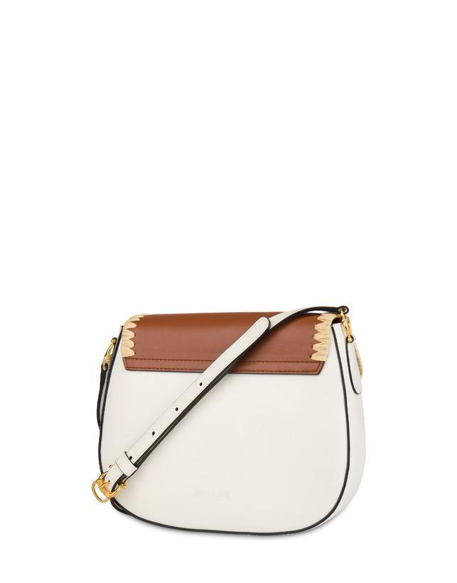Giulietta Clamp calfskin and split leather shoulder bag Photo 3