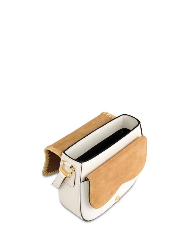 Giulietta Clamp calfskin and split leather shoulder bag Photo 4