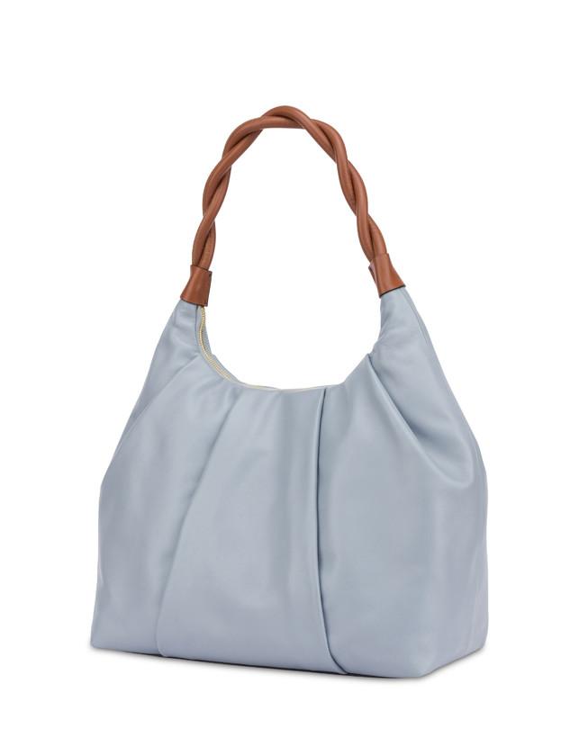 Aura hobo bag in calfskin Photo 3