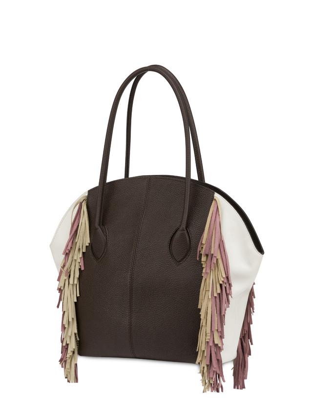 Aris double handle bag in calfskin Photo 3