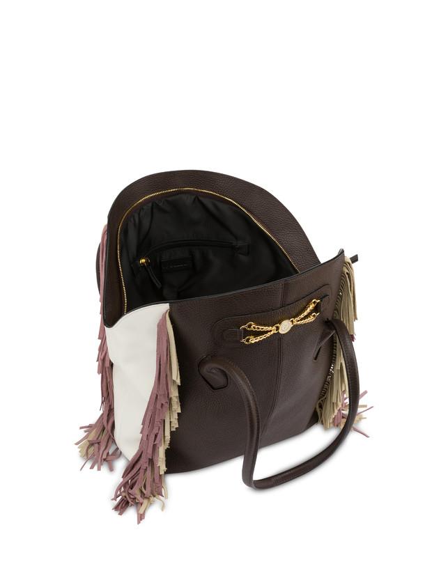 Aris double handle bag in calfskin Photo 4
