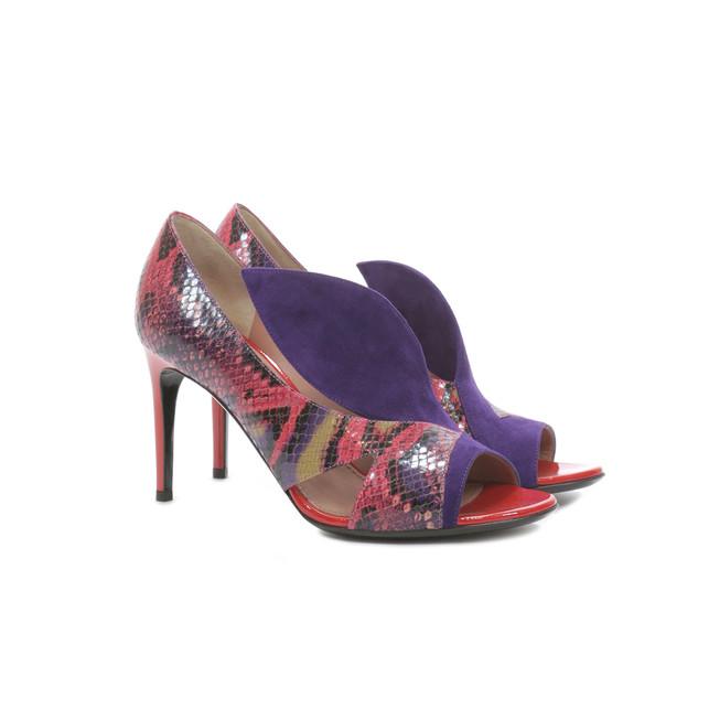 Pumps Cyclamen/violet/red